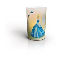 CINDERELLA I SET 71711/02/16 LAMPKA CANDLES PHILIPS