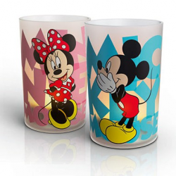 MICKEY & MINNIE 2 SET 71712/55/16 LAMKI CANDLE PHILIPS