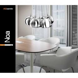 NOA 7 PL-6084 CHROM/WHITE LAMPA WISZĄCA AZZARDO