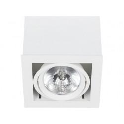 BOX WHITE-WHITE SPOT NOWODVORSKI 6455