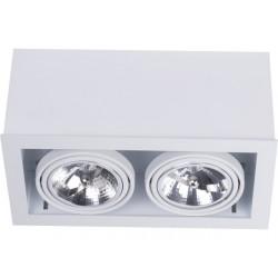 BOX WHITE-WHITE SPOT NOWODVORSKI 6456