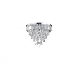 PLAFON AZZARDO LAMPA SUFITOWA SZKLANA DEL-3872-6P