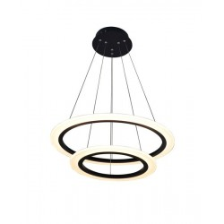 LAMPA WISZĄCA DO SALONU CIRCLE LED ZUMA LINE L-CD-660-BL