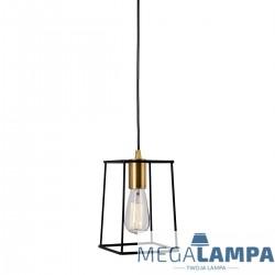 LAMPA INDUSTRIALNA/LOFT WISZĄCA ALANIS MD-BR16556-D1-B/G ITALUX