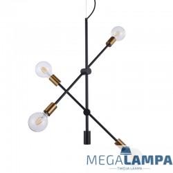 LAMPA INDUSTRIALNA/LOFT WISZĄCA EDMOND MD-BR-262002-D4-G/B ITALUX