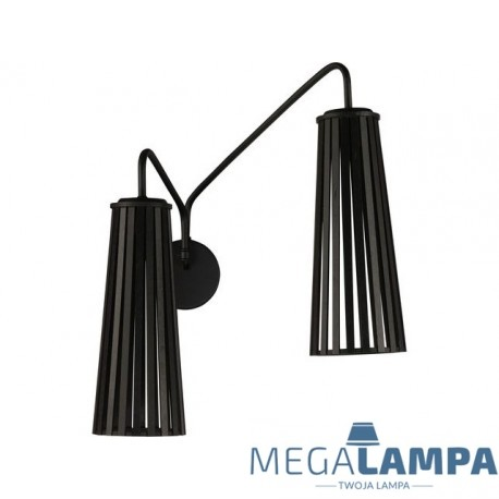 Kinkiet nowoczesny Dover Black II 9265 Novodworski Lighting