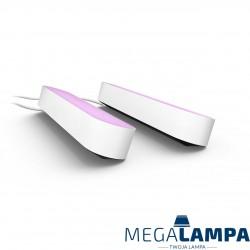 78202/31/P7 zestaw 2 podłużnych lamp HUE Philips PLAY BIAŁE zmieniają kolory, z zasilaczem
