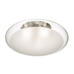 SMARTIES CLEAR PL3 D50 - IDEAL LUX - WŁOSKA LAMPA PLAFON