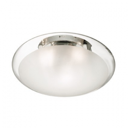 SMARTIES CLEAR PL2 D40 - IDEAL LUX - WŁOSKA LAMPA PLAFON