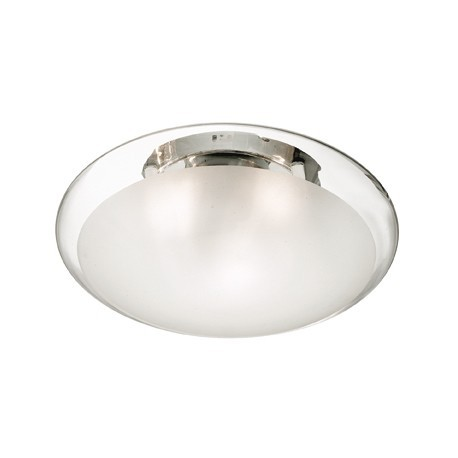SMARTIES CLEAR PL2 D40 - IDEAL LUX - WŁOSKA LAMPA PLAFON