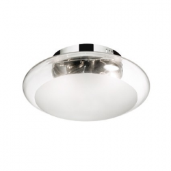 SMARTIES CLEAR PL1 D33 - IDEAL LUX - WŁOSKA LAMPA PLAFON