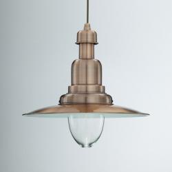 FIORDI - WŁOSKA LAMPA WISZĄCA IDEAL LUX - SP1 BIG BRĄZ