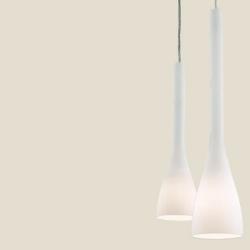 FLUT SP1 SMALL BIAŁA - IDEAL LUX - LAMPA WŁOSKA WISZĄCA